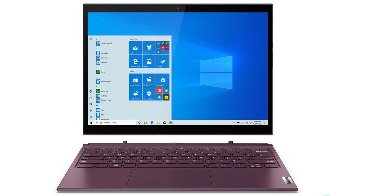 Lenovo Yoga Duet 7i với thiết kế bàn phím rời