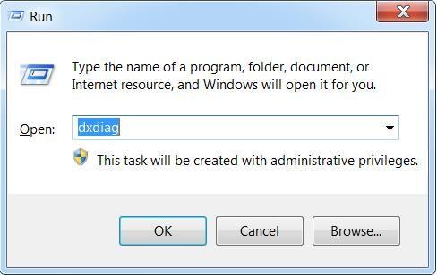 Dùng tổ hợp phím Windows+R