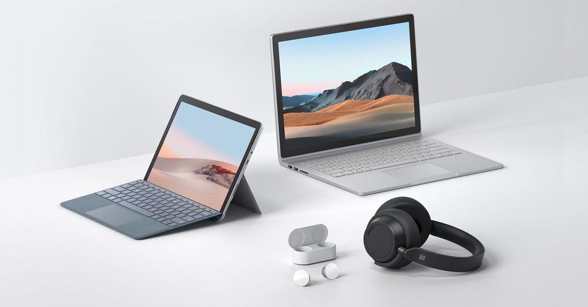 Microsoft công bố bộ 3 thiết bị Surface Go 2, Surface Book3 và Surface Headphones 2