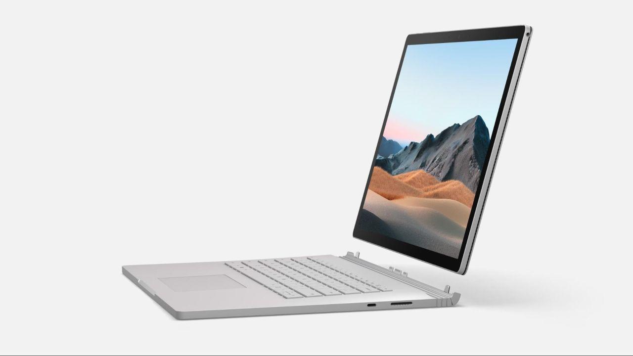 Surface Book 3 với CPU thế hệ 10 cùng card rời hỗ trợ chơi game, đô hoạ tốt