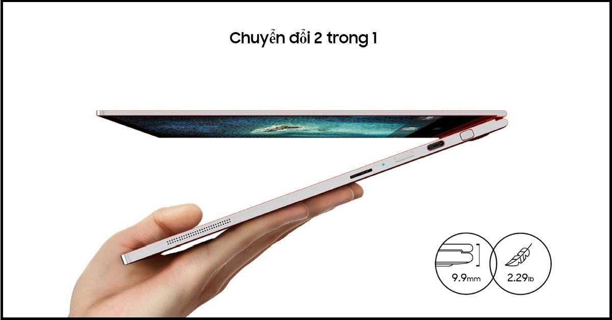 Laptop Samsung Galaxy Chromebook với khả năng chuyển đổi linh hoạt