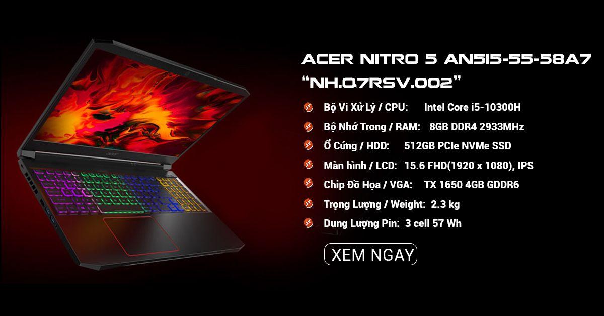 ACER NITRO 5 AN515-55-58A7