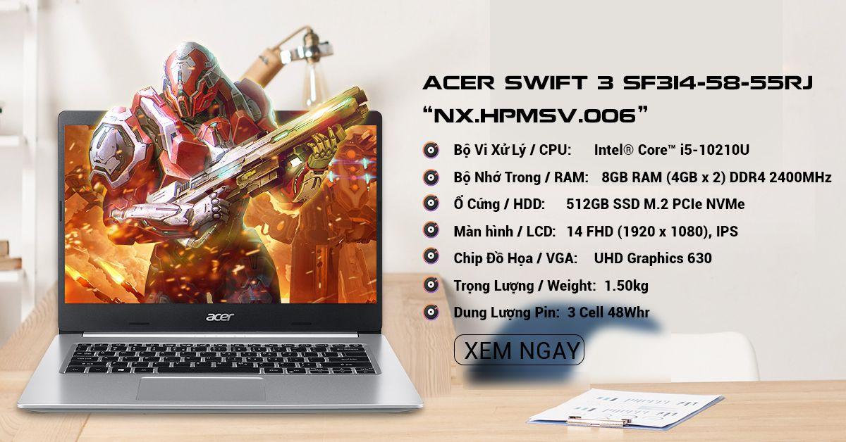 Acer Swift 3 SF314-58-55RJ (NX.HPMSV.006)
