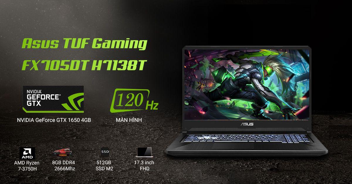 laptop gaming Asus TUF Gaming FX705DT H7138T