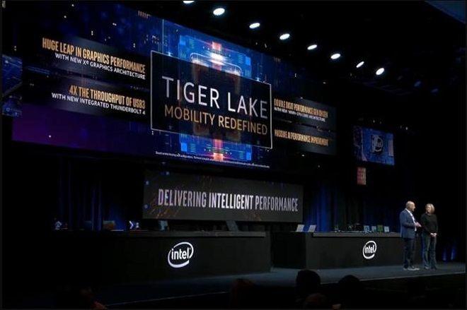 Tiger Lake 10nm+ là chip tiếp theo được ra mắt sau Ice Lale 10nm