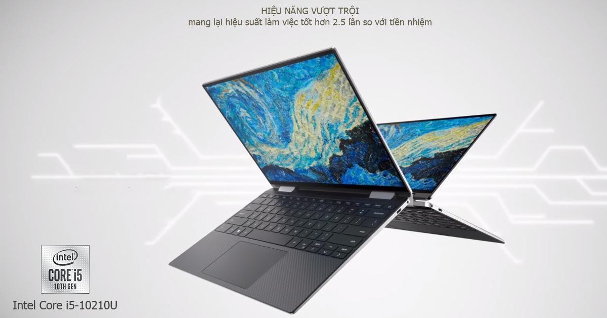 DELL XPS 13 là 1 trong những laptop đầu tiên trang bị chip Comet Lale 14nm