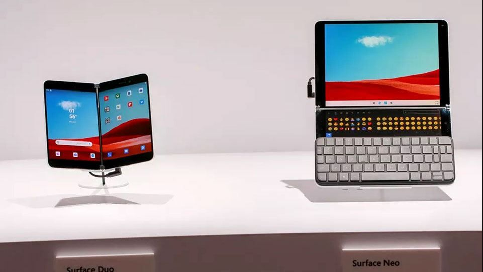 Surface Duo và Surface Neo sẽ được trang bị windows 10x