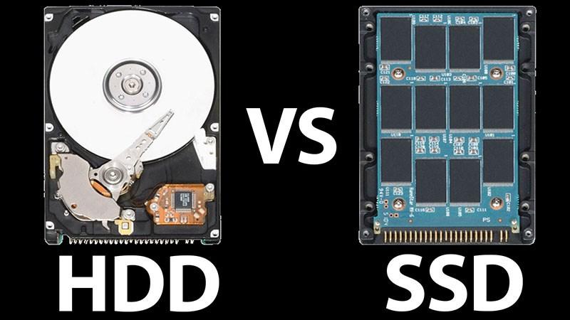 ổ cứng HDD và SSD