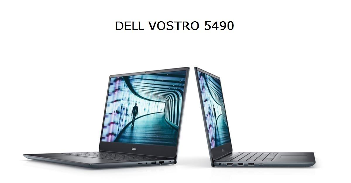 Laptop Dell 5490 sở hữu thiết kế sang trọng