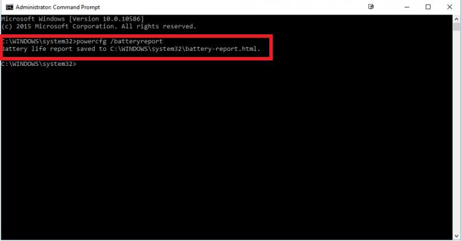 bước 2  kiểm tra pin laptop không dùng phần mềm