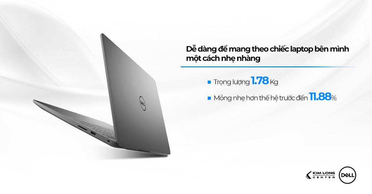 thiết kế vẻ ngoài Dell Inspiron N3501