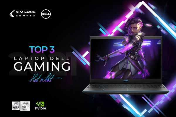 Bộ 3 Laptop Dell Gaming Cực Hot 2021