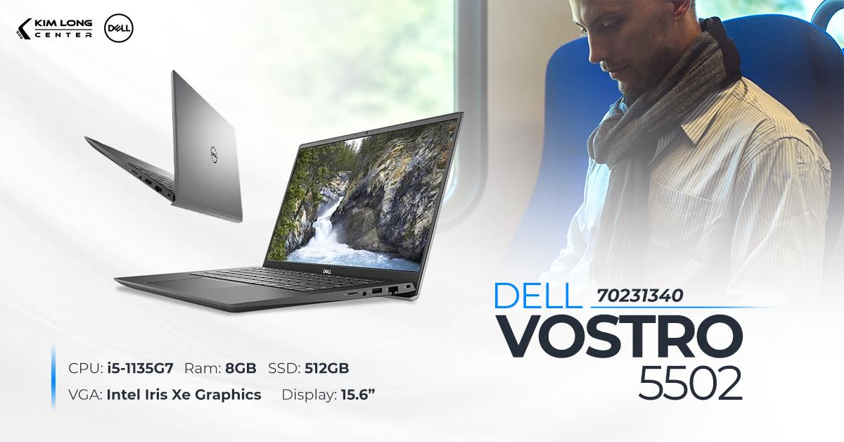 Dell Vostro 5502 chip i5 thế hệ 11